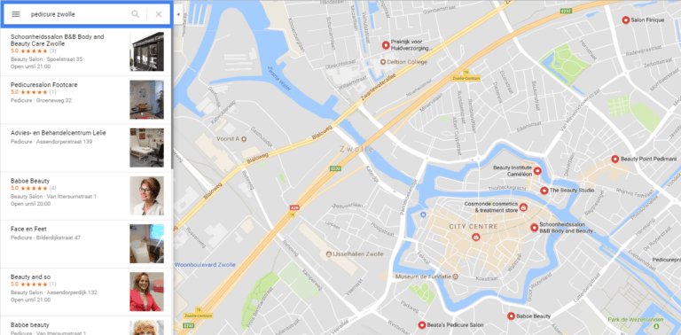 vindbaarheid-verbeteren-google-places-pedicure-maps