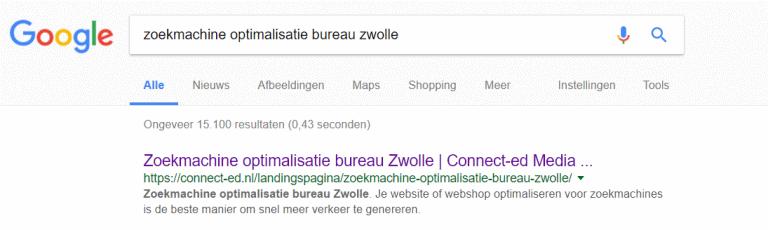 long-tail zoekworden en lokale zoekmachine optimalisatie voor nieuwe website