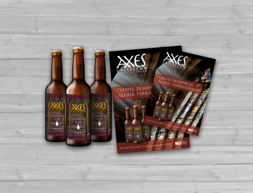 Axes Castellum Kloosterbier Assendorp, Zwolle Posters & Labels
