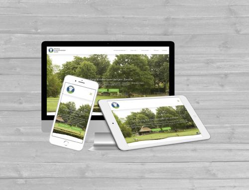 Frisse nieuwe wordpress website voor stichting kinderboerderijen Zwolle