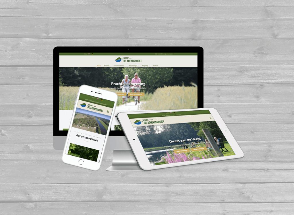 resort de arendshorst ommen wordpress website