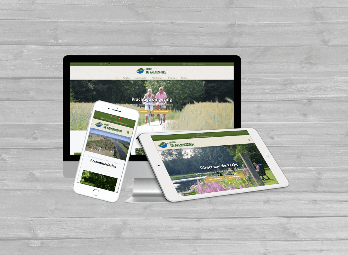 resort de arendshorst ommen wordpress website