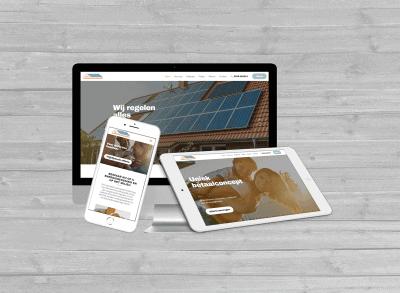 wordpress website het zonnepanelenhuis ommen