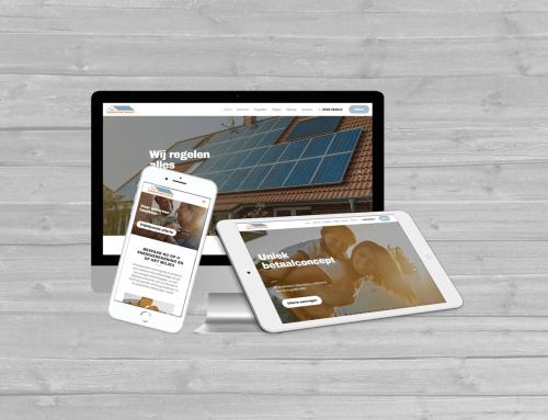 Nieuwe WordPress website voor Het Zonnepanelenhuis Ommen