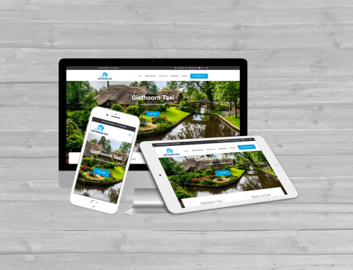 Giethoorn Taxi WordPress website