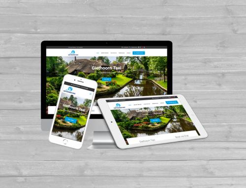 Nieuwe WordPress website in het Chinees voor Giethoorn Taxi