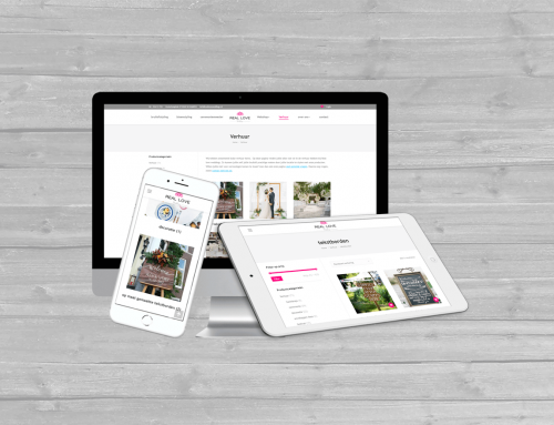 Real Love Weddings Kampen WordPress website en WooCommerce webshop