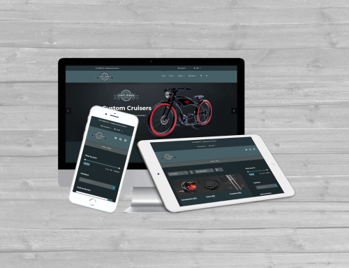 Custom Cruisers Zwolle WordPress website en WooCommerce webshop