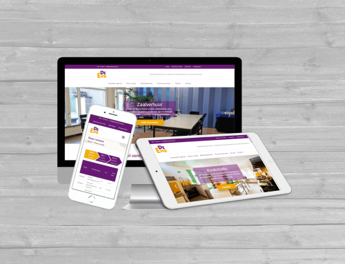 Complete website redesign voor De Enk in Zwolle