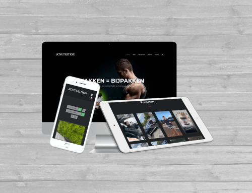 WooCommerce webshop JCNutrition