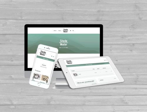 WooCommerce website voor Zwolse start-up StedeWater