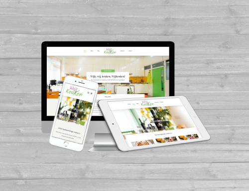 WordPress website WijKeuken
