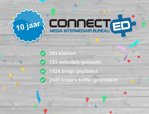 """10 jaar Connect-ed: """"Connect-ed is ontstaan toen ik 18 jaar was, tijdens tussenuren van mijn opleiding"""""""